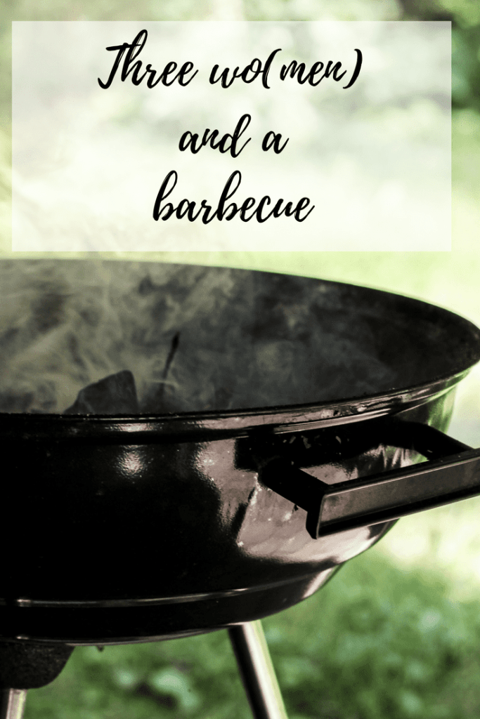 Enjoy the attempts (and cider) as three women attempt to build a barbecue #barbecue #bbq #grill #cider #diy