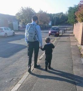 #primaryschool #walkingtoschool #schoolrun