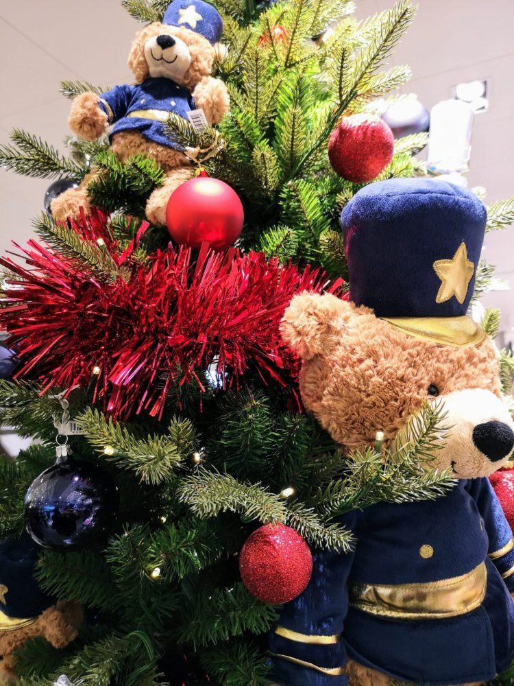 Great British Christmas Tree, British Police Bear decoration, london christmas tree, John Lewis