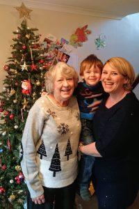 christmas day, christmas tree, family christmas