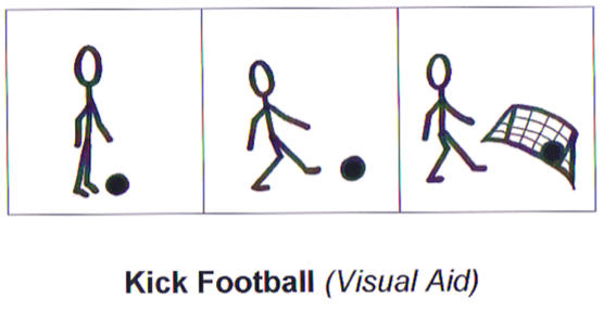 The Inclusion Club—Episode15 Kick Football Visual Aid