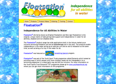 The Inclusion Club—Episode34: Floatsation Website