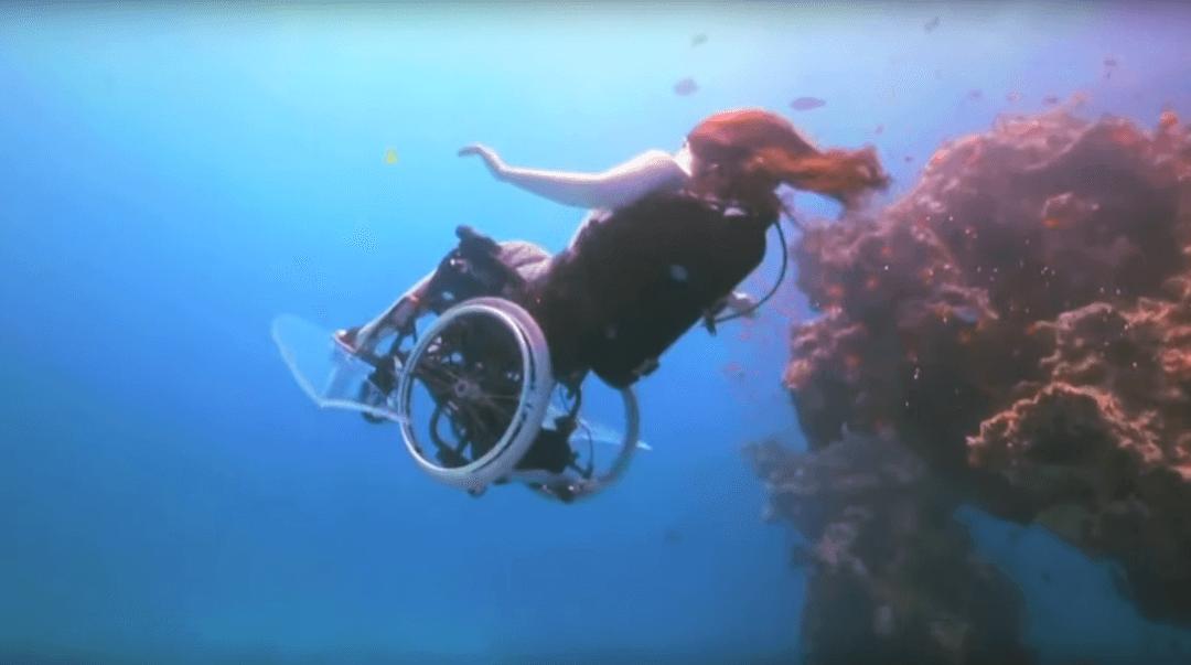Sue Austin: Deep sea diving … in a wheelchair