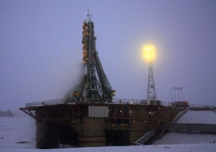 Russia's Soyuz TMA-22 spacecraft