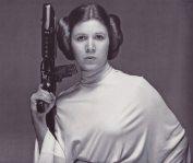 Princess Leia, weapon.
