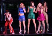 Spice Girls on stage.