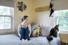 Her cat