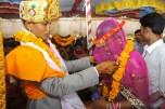 A newly married couple
