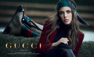 Charlotte Casiraghi for Gucci