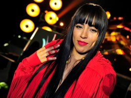 Loreen in red