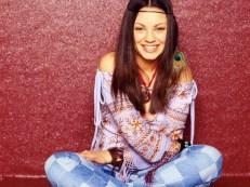 Mila Kunis Flowers Power