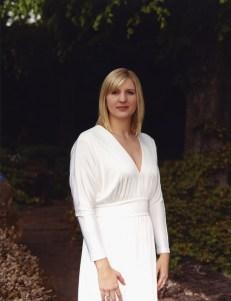 Rebecca Adlington White Dress