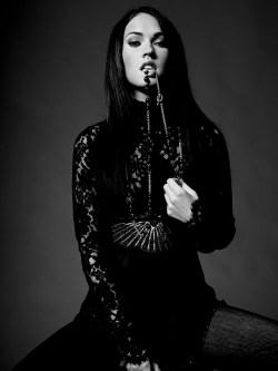 Dark Megan Fox