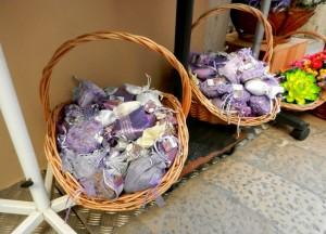 Bags of Dalmatia lavender, Croatia