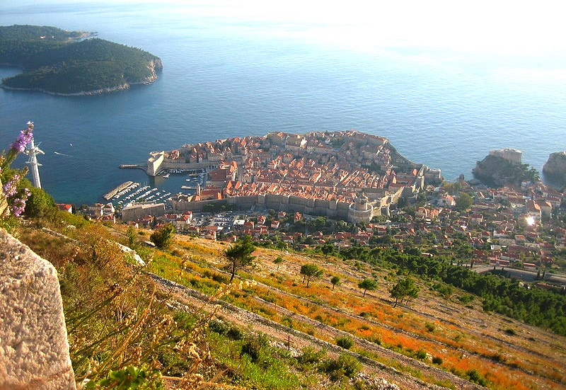 Dubrovnik from Fort Imperial, Croatia