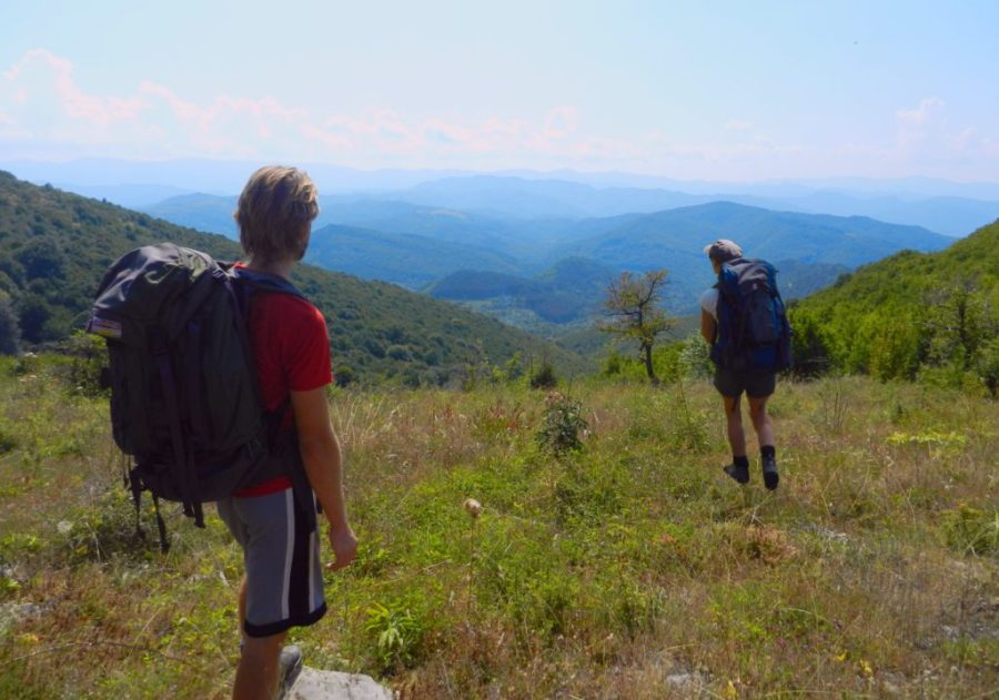 Hiking Bulgaria Ash and Nat