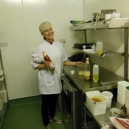 Ashleigh the cook