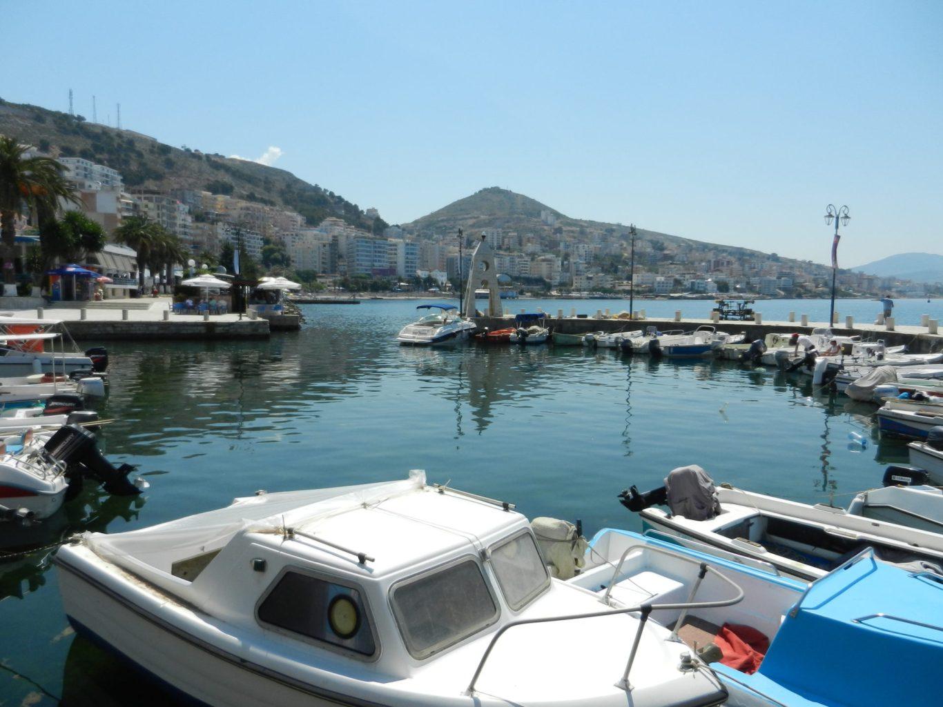 Sarande docks, Albania