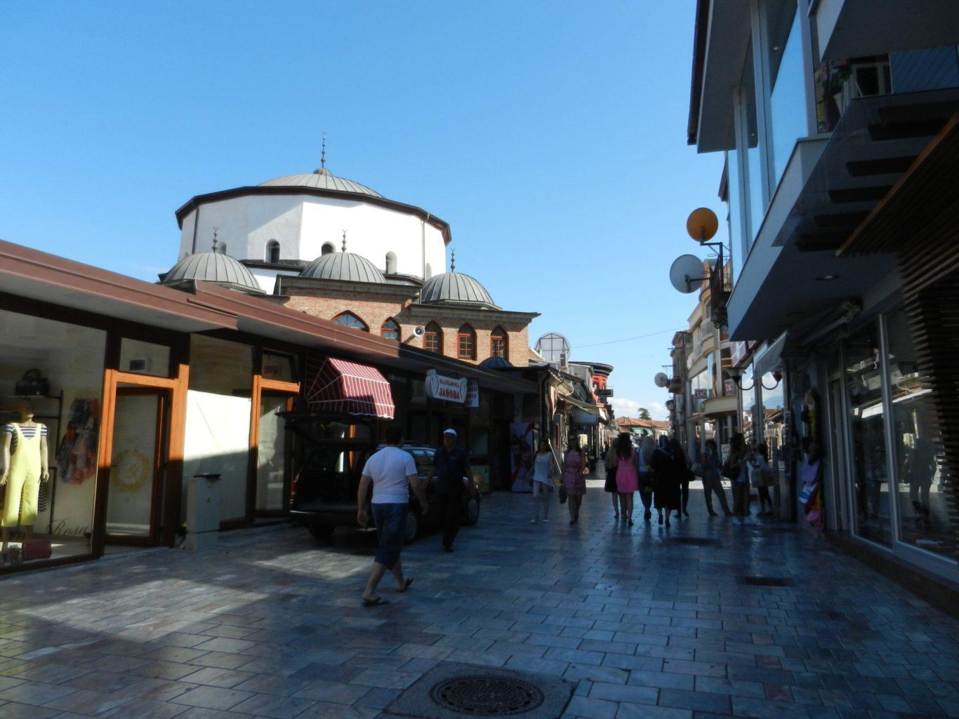 Ali Pasha Mosque in Ohrid, Macedonia