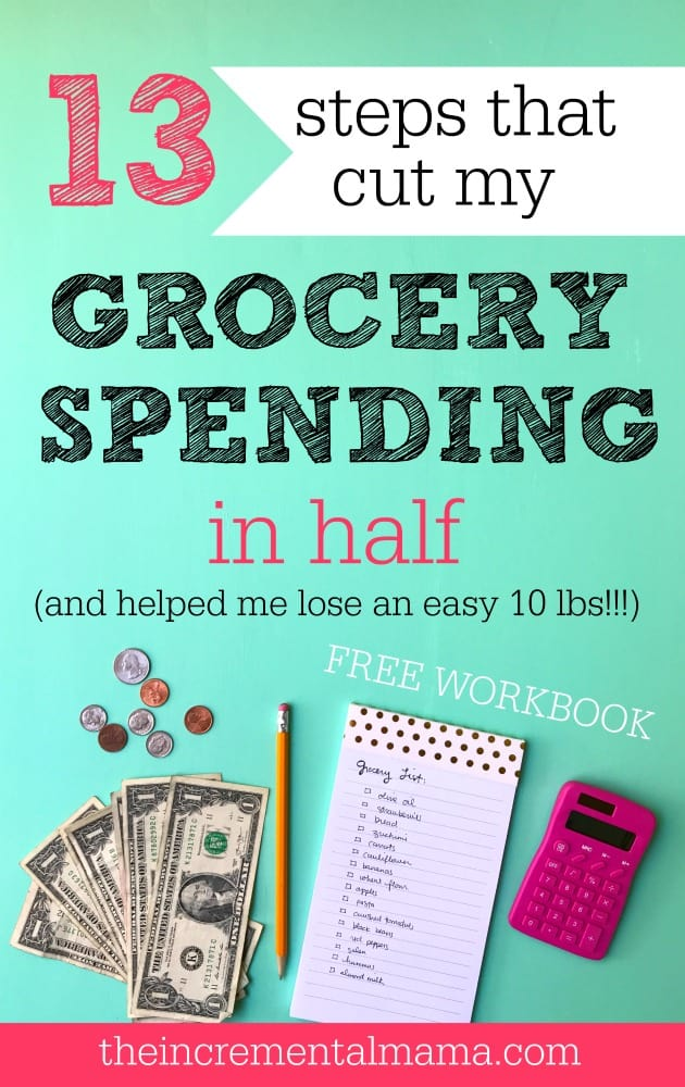 Need to save money on groceries, but not sure where to start. This is the ULTIMATE guide to grocery shopping in a budget. This is detailed (with a FREE workbook) and takes you step-by-step to mastering your grocery budget and living a healthier life!