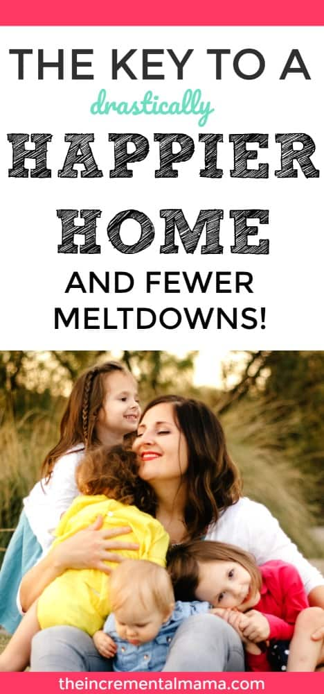 Avoid meltdowns and tantrums and create a happier home with these simple tips to show more affection for your children.