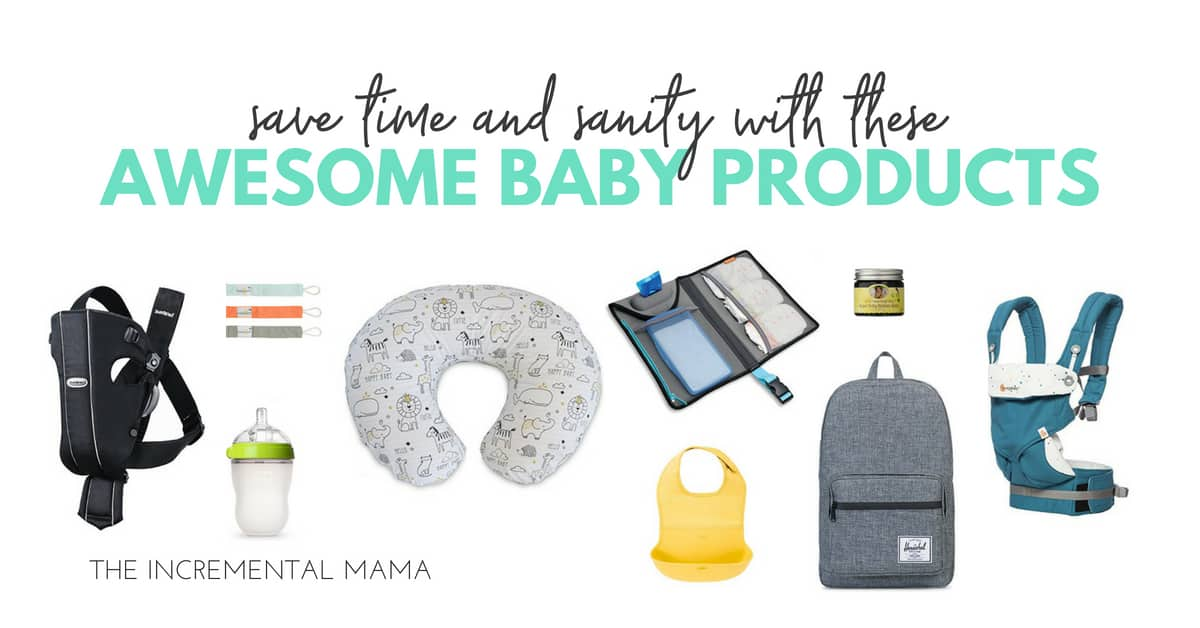 14 Baby Products That You Need Immediately