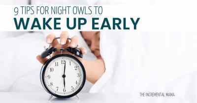 9 Tips to Wake Up Early #hacks #wakeupearly