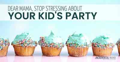 Stressed over your kid's party? There's a better way.