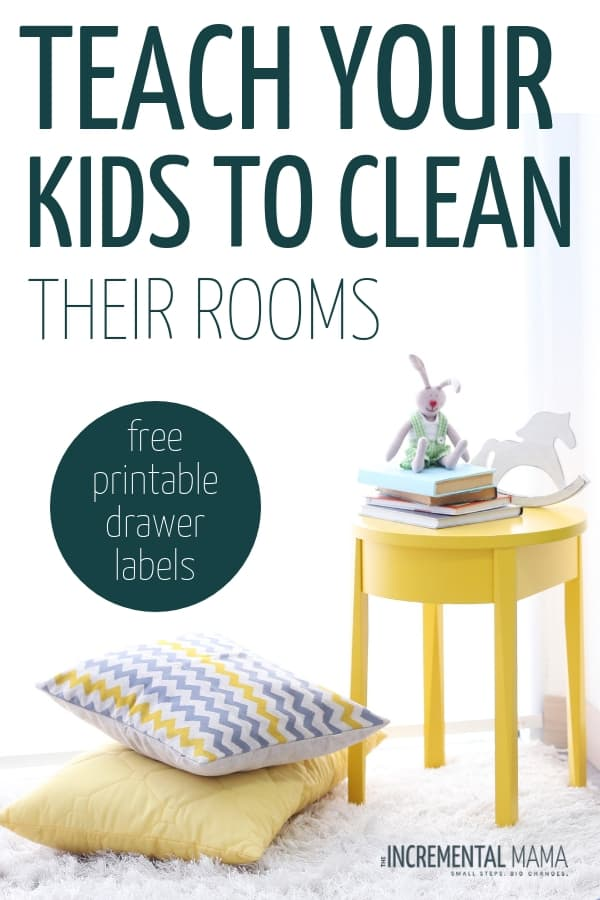 Teach your child to clean their room with these 7 parenting tips. Not only will you get your kids to clean their room, but you'll raise independent children who have cleaning skills! #teachchildtocleanroom #parentingtips #getkidstocleantheiroom #raiseindependentkids