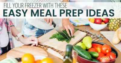 5 insanely easy meal prep ideas #mealprep #momhacks