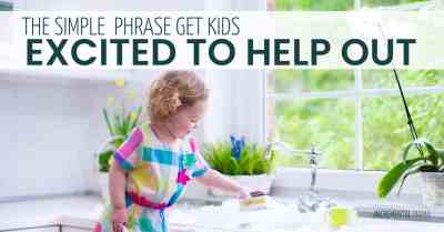 End whining and get kids excited to help out #parenting #whining
