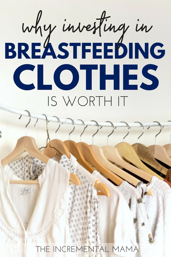 Breastfeeding clothes are amazing and will change your nursing experience! #breastfeeding