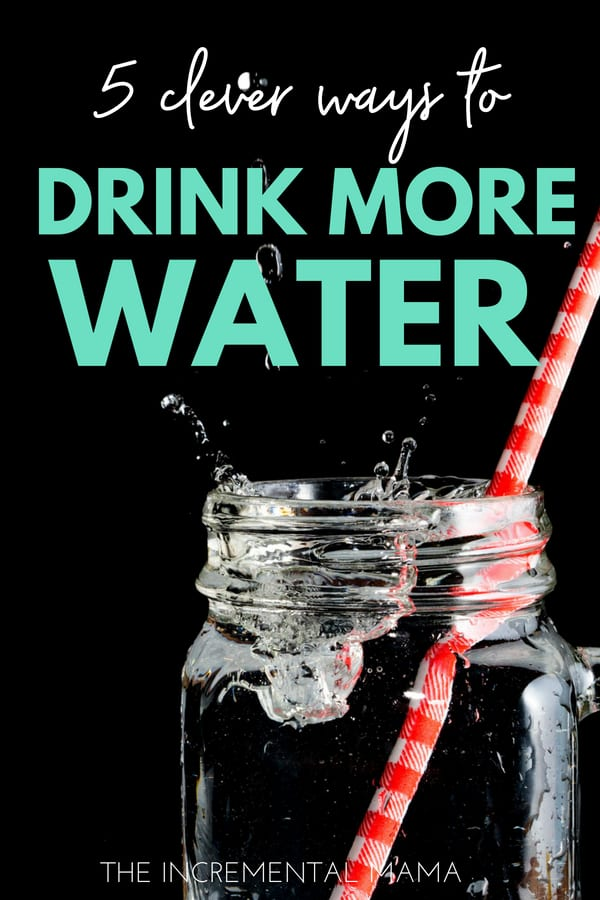 5 simple tips to drink more water everyday #drinkmorewater #healthylifestyle