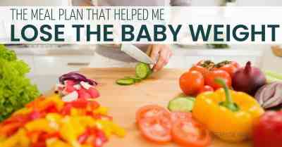 The intermittent fasting and breastfeeding meal plan that helped me lose the baby weight #weightloss #mealplan #intermittentfasting