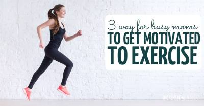 get motivated to exercise