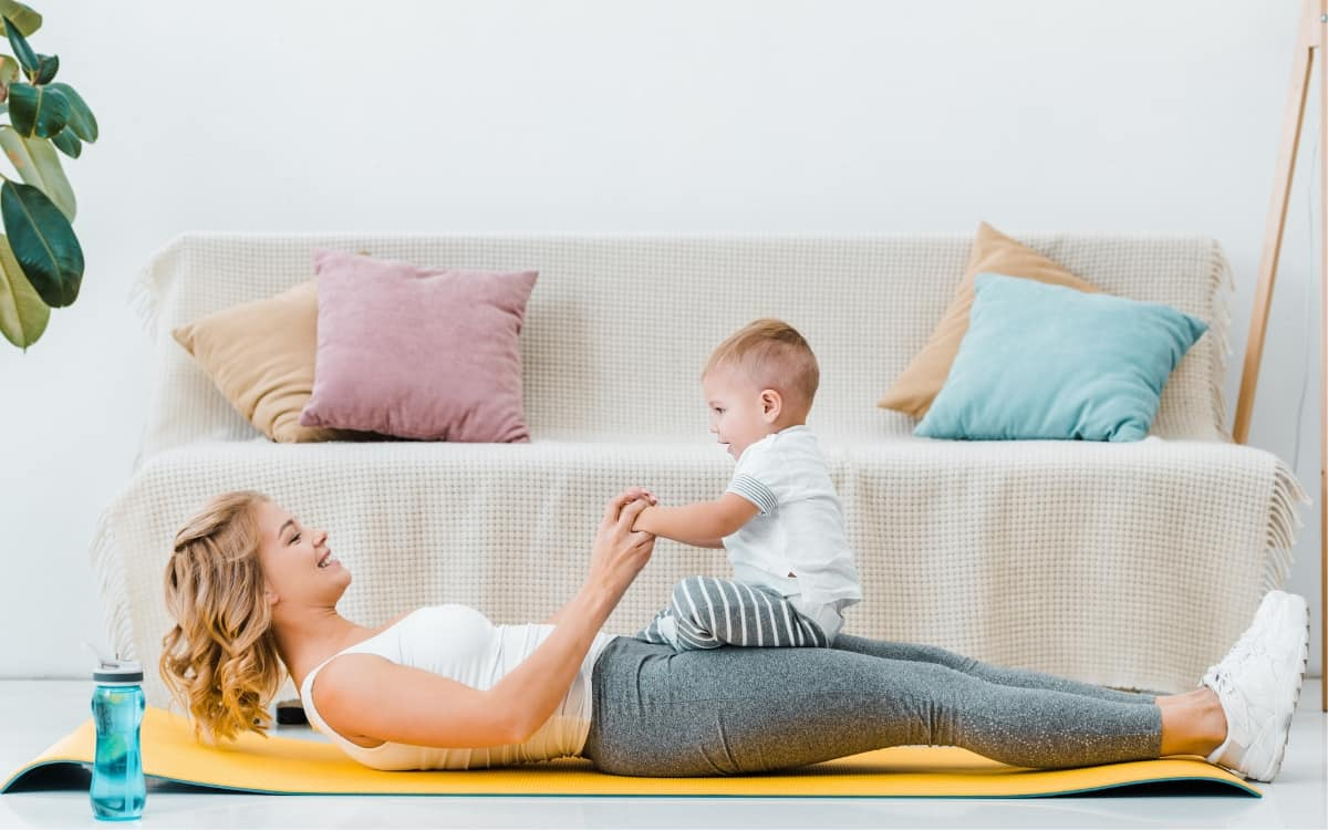 get things done with a newborn and toddler