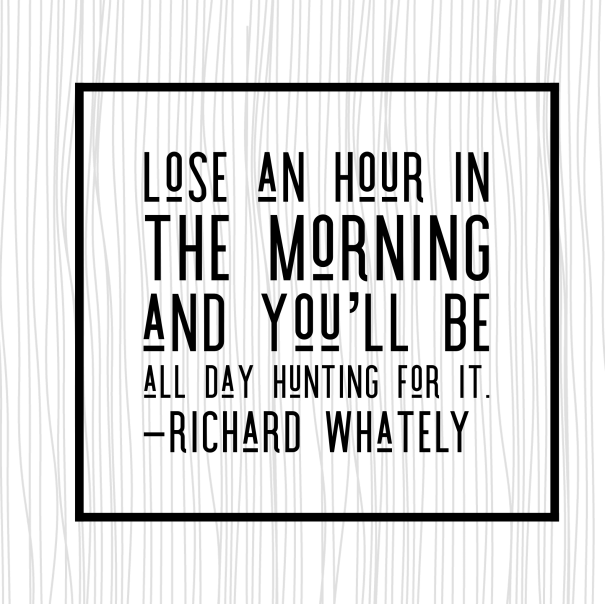 wake up early motivational quote