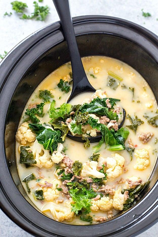 low car zuppa toscana soup