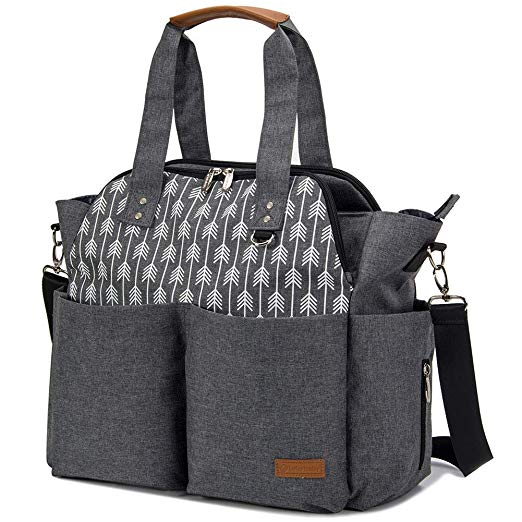 best diaper bag tote for baby and toddler