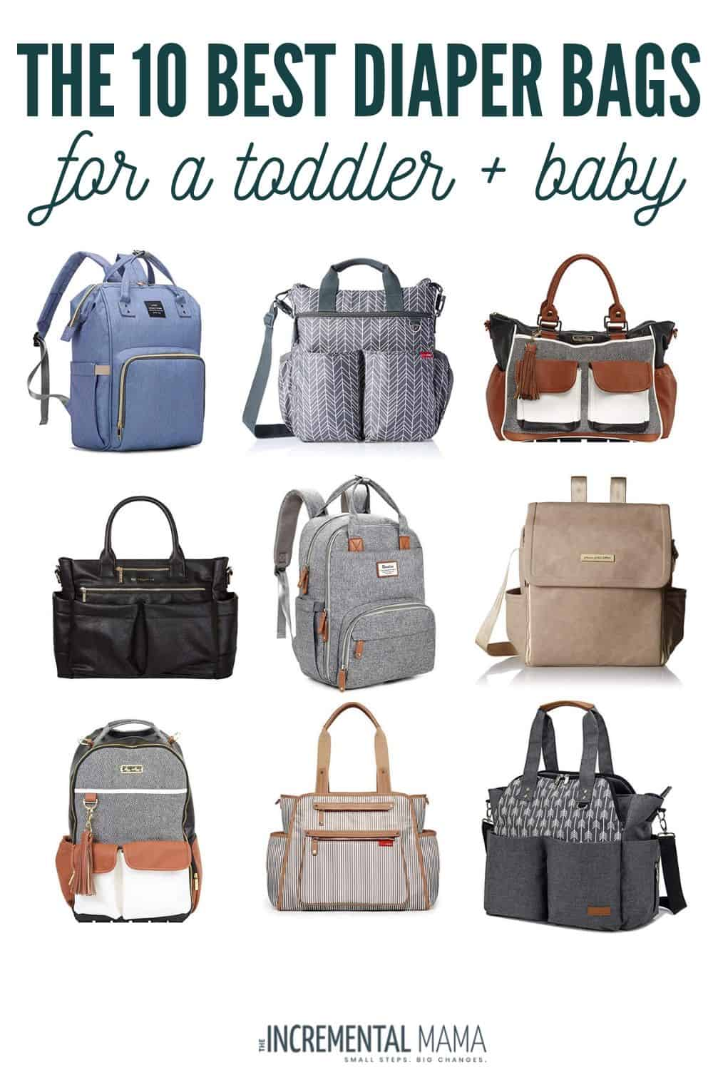 best diaper bags for toddler and newborn