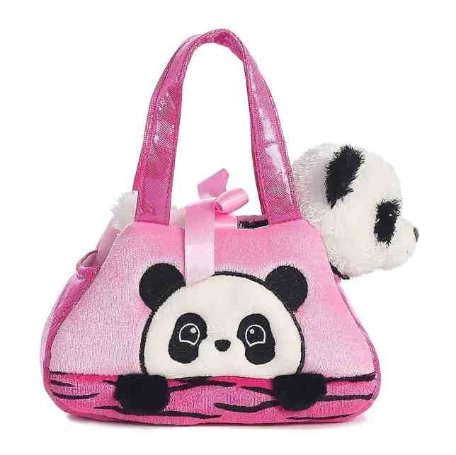 plushie and panda purse