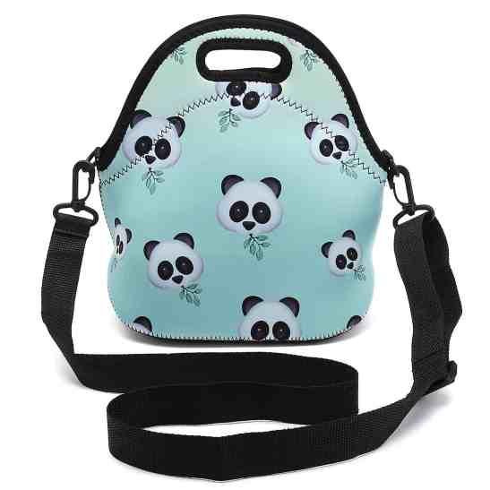 insulated panda lunch box