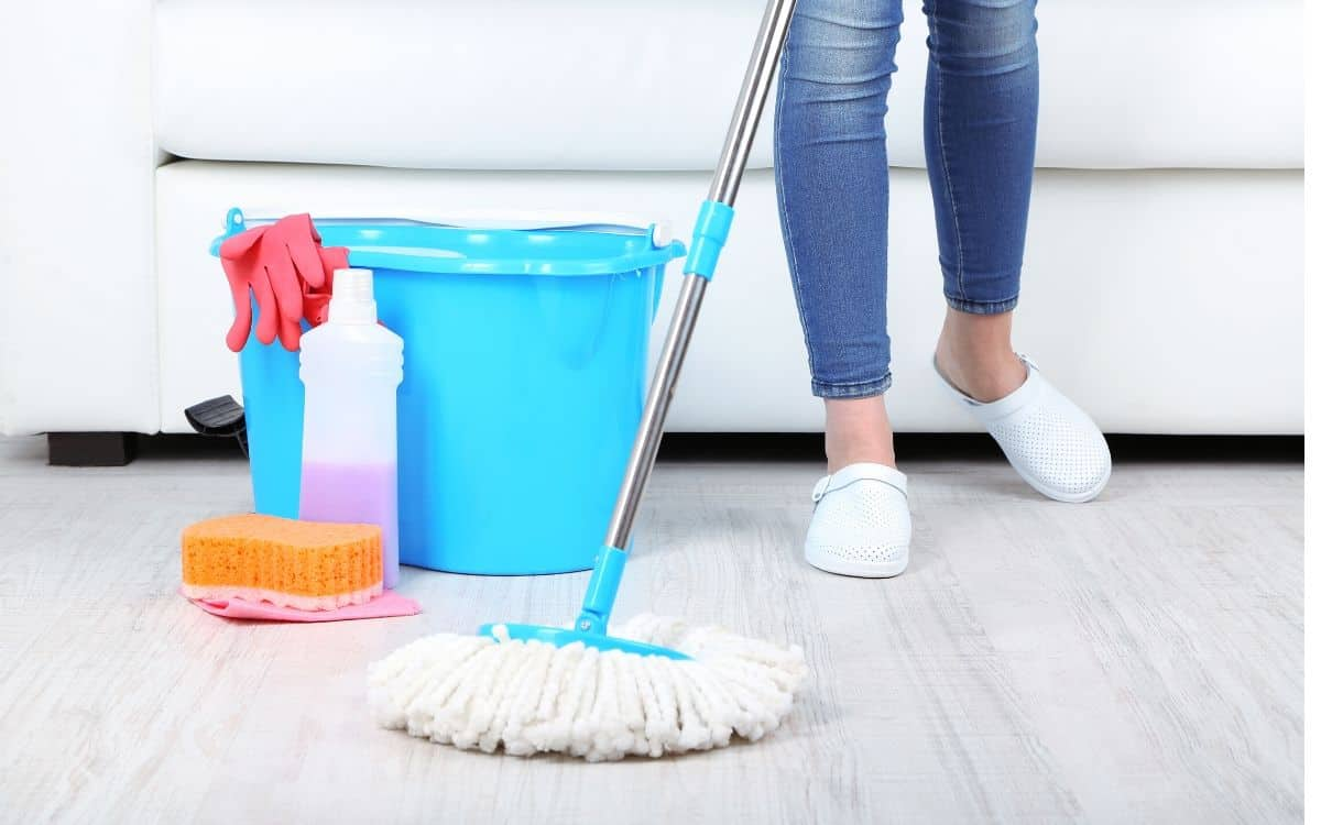 make cleaning fun