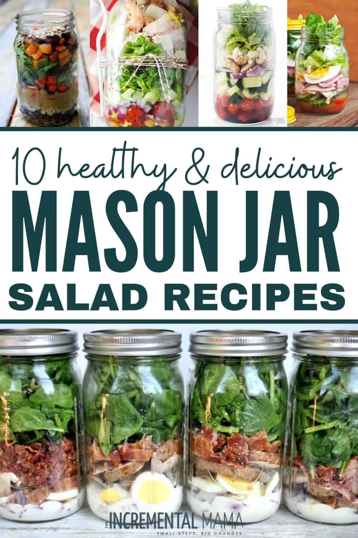 easy mason jar salad recipes
