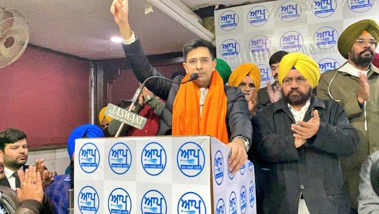 Raghav Chadha AAP Punjab