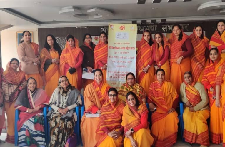 तेरापंथ महिला मंडल की बहनों ने भावनाओं को कहानी के माध्यम से किया अभिव्यक्त