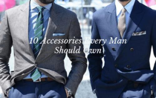 Accessories man own