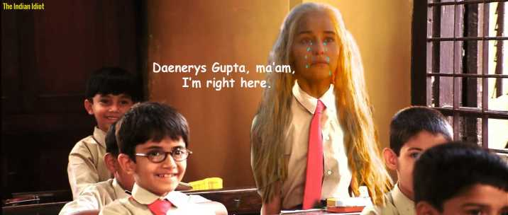 If Game of Thrones India Desi