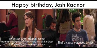 Ted mosby birthday
