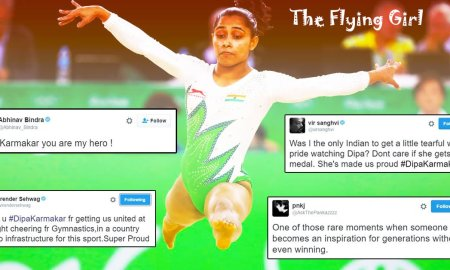 Twitter reaction Dipa Karmakar Rio Olympics